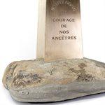 Hommage au feu des Anglais, bronze miniature