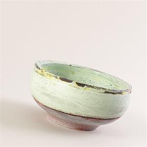Bol à savon en béton coloré