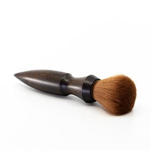 Ebony wood makeup brush
