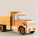 Jouet camion benne en bois