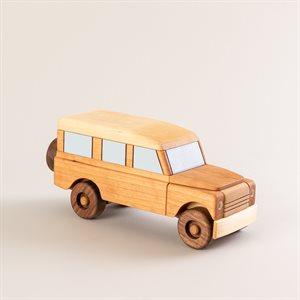 Jouet Jeep en bois