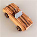 Jouet voiture de course en bois