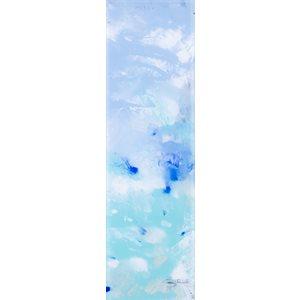 Douce, peinture acrylique sur feuille d'acrylique