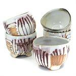 Ceramic slatted bowl