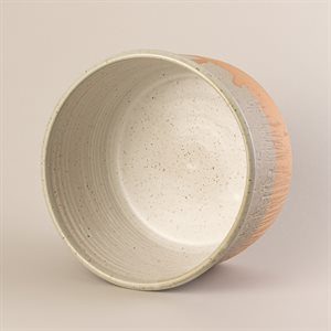 Stoneware soufflé or cake dish