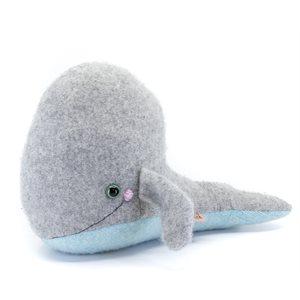 Toutou baleine 100% laine