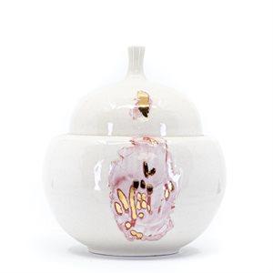 Boite à secret en céramique, collection Faire Peau Neuve