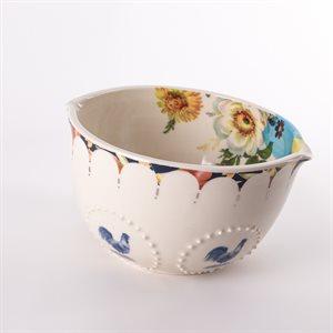 Bol repas en céramique, collection Rococo Bling Bling, modèle 4