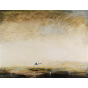 Le ciel jaune, version 2