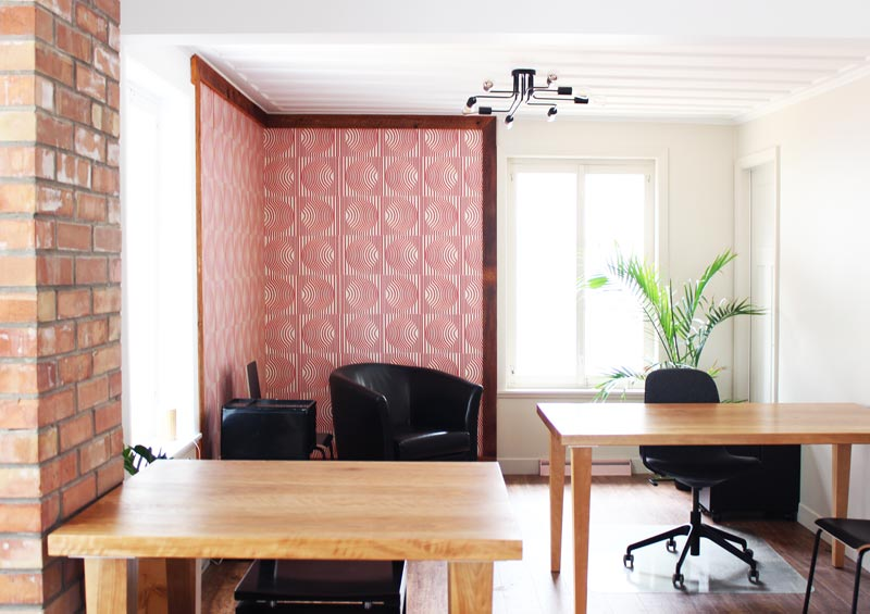 Office in Le Vivoir's house