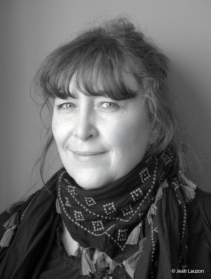 Portrait de l'artiste photographe Nathalie Ampleman
