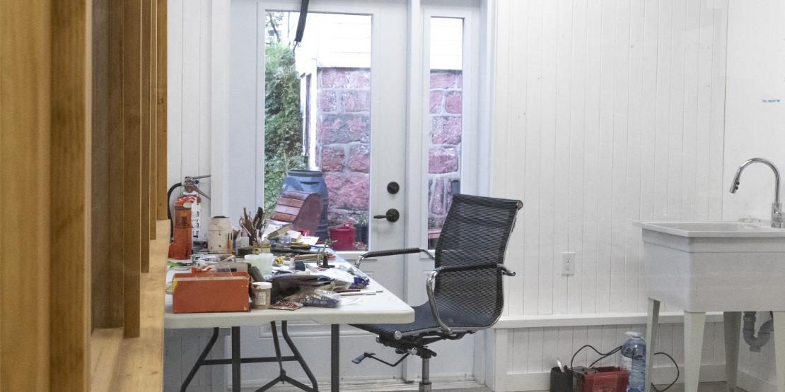 Atelier d'artiste à louer