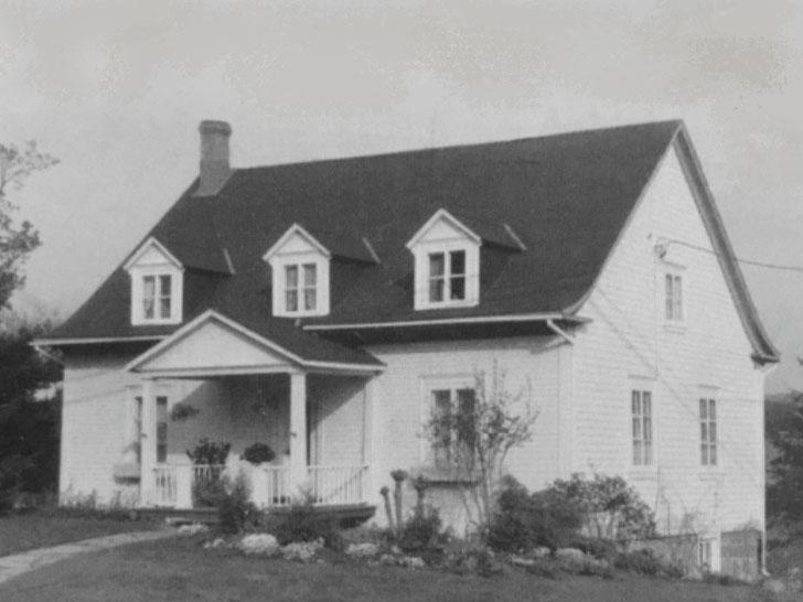 La maison du Vivoir autrefois